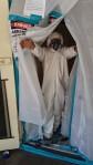 Removing asbestos