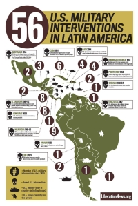 56 US Military Interventions in Latin America